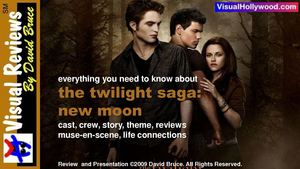 The Twilight Saga: New Moon (2009) Visual Movie Review