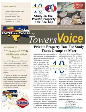 STO January 2010 Newsletter