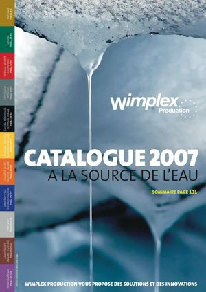 Catalogue Wimplex  2007/08