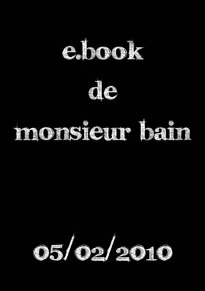 E-BOOK Monsieur Bain