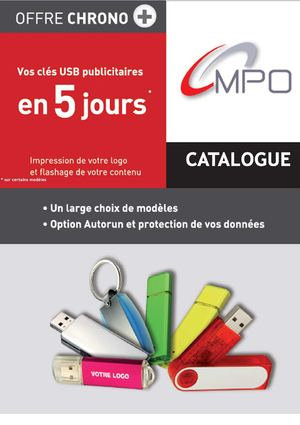 Catalogue clés USB