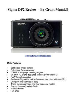 Sigma dp2 quattro review | photography blog.