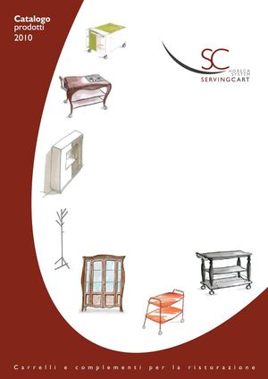 SC SERVING CART catalogo 2010