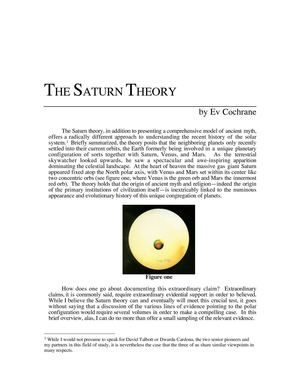 The Saturn theory