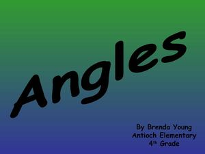 The Angles Book