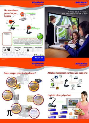 Brochure AVerMedia 2010 (Visualiseurs)