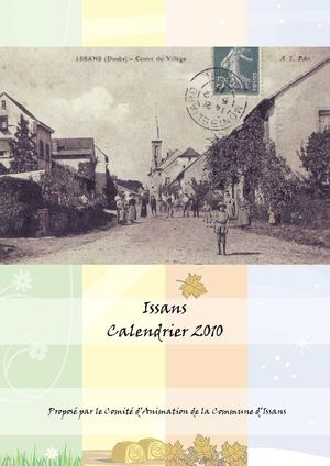 Calendrier Issans 2010