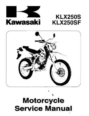 calaméo manual de taller kawasaki klx250 en inglésmanual de taller kawasaki klx250 en inglés