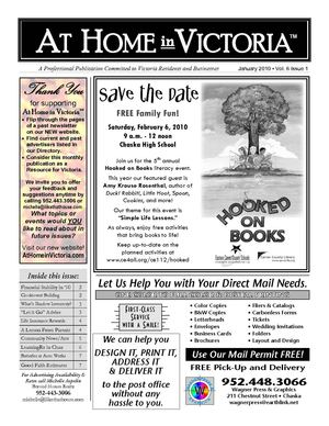 At Home In Victoria Newsletter January 2010