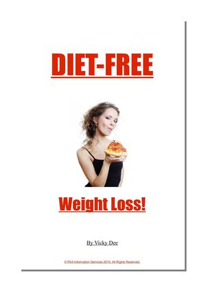 Diet Free Weight Loss - How To Lose Weight Permanently