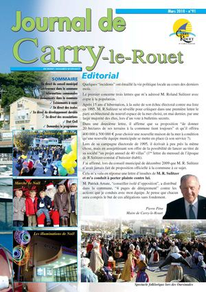Journal municipal de Carry-le-Rouet N91