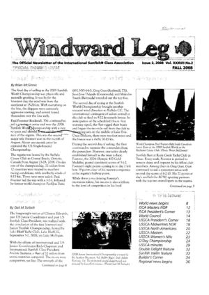 Sunfish Windward Leg - 2008 issue 2 - Vol XXXVII no 2 - fall.pdf
