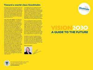 A Guide To The Future - Vision 2030 Stockholm