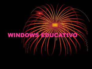 winidows educativo