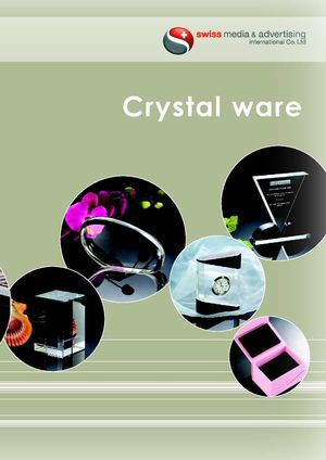 Crystal ware catalog