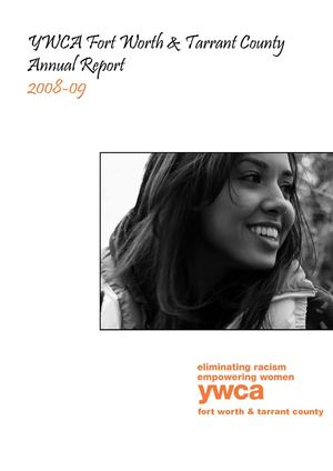 YWCA Fort Worth & Tarrant County - 2008-2009 Annual Report