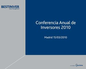 Bestinver Conferencia Clientes 2010