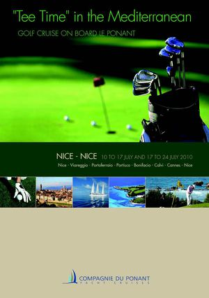 Golf Cruise - Tee Time in the Mediterranean (fares in EUR)