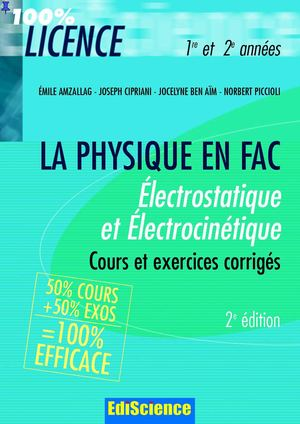 Electrostatique - Electrodynamique
