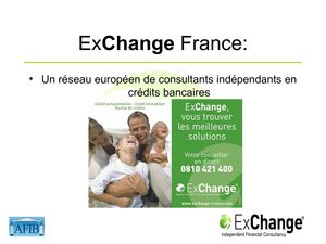 EXCHANGE Présentation mail  Franchisé 1