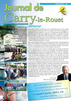 Journal municipal de Carry-le-Rouet N90