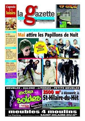 La Gazette Week-End N°3 : Avranches, Granville, Villedieu - Mai 2010