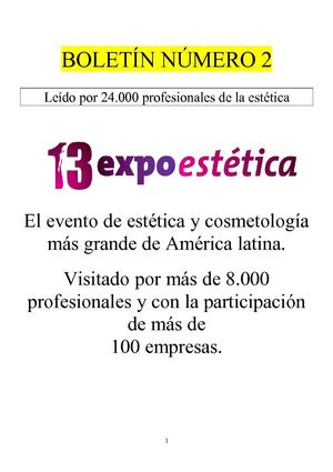13 Expoestetica - Catalogo digital