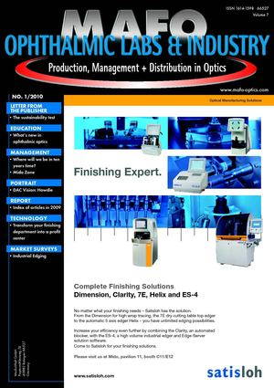 MAFO 2010 Issue 01 - Ophthalmic Labs & Industry -