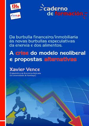 A crise do modelo neoliberal e propostas alternativas.
