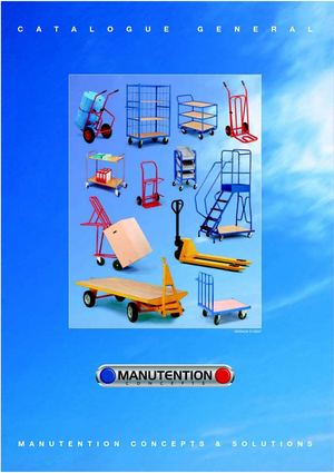 MANUTENTION CONCEPTS & SOLUTIONS MANUEST 03 88 49 78 78