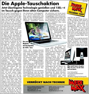 Apple Tausch