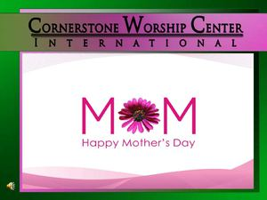 CWC Mother's Day Presentation