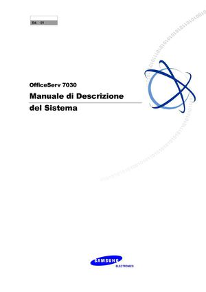 Manuale OfficeServ 7030