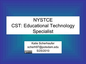 NYSTCECST: Educational Technology Specialist
