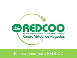 Manual para registrarse en Redcoo