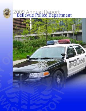 2009 Annual Report - Bellevue Police Department