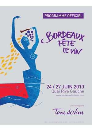 Bordeaux Fête le Vin 2010 - Programme Officiel