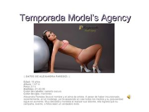 BOOK TEMPORADA MODEL'S AGENCY