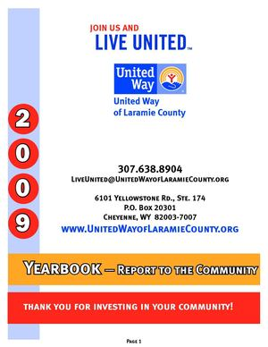 2009 UWLC Yearbook, Our Annual Report to the Community