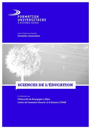 Brochure Sc. de l'Education
