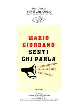 Calaméo - 2007 - Mario Giordano - Senti chi Parla d353d44f2c66