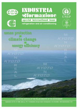 International Special Issue  - UNEP - IIR - CSG Refrigeration - Air Conditioning