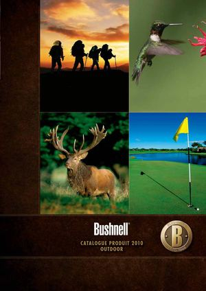 Catalogue Bushnell Outdoor 2010 / 2011