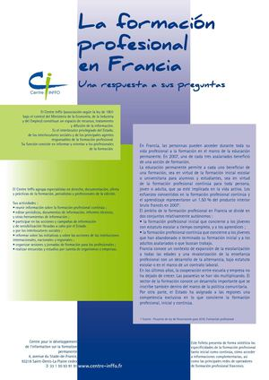 La formation professionnelle en France (version espagnole)