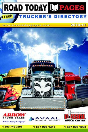 Road Today Pages - Trucker's Directory - 2010 -11