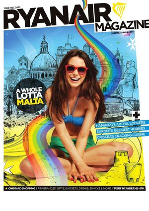 Ryanair Magazine June - July 2010