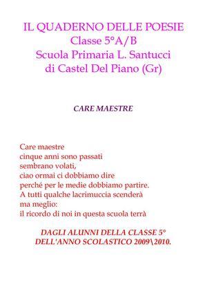 Calaméo Il Quaderno Delle Poesie