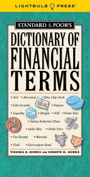Standard & Poor's Dictionary of Financial Terms