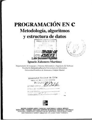 Calaméo Programacion En C Metodologia Algoritmos Y