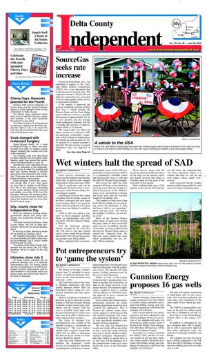 Delta County Independent, Issue 26, June 30, 2010